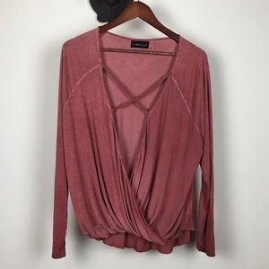 NWOT Mustard Seed Long Sleeved Blouse